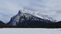 Mount Rundle, Banff National Park, Alberta Canada (renedrivers) Tags: rchan415 renedrivers winter banffnationalpark snow mountain
