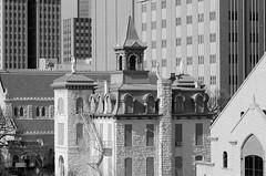 Saint Ignatius (dangr.dave) Tags: fortworth tx texas cowtown tarrantcounty panthercity downtown historic architecture saintpatrickscathedral saintignatius school wtwaggonerbuilding attbuilding stignatiusacademy