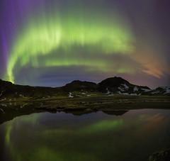 Djúpavatn Iceland (Benedikt Halfdanarson) Tags: djúpavatn auroraborealis aurora norðurljós northernlights nightsky stars stjörnur næturhiminn iceland ísland