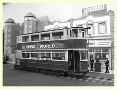 London Transport tramcar E1 1802 (kingsway john) Tags: london transport tower tram e1 route4 176 scale oogauge kingsway models miniature model plastic kit