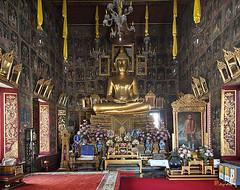 Wat Ratcha Orasaram Phra Ubosot Interior (DTHB0859)