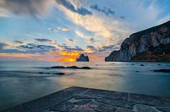 Like a dream (Fabrizio Contu) Tags: landscape seascape sea water sunset sardegna sardinia masua pandizucchero nebida longexposure nikon