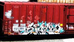 stalk (timetomakethepasta) Tags: stalk tci freight train graffiti art boxcar sittin chrome mp missouri pacific