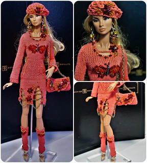 Dress, bag, gaiters, jewelry. beret for Fashion Royalty Poppy Parker, FR2