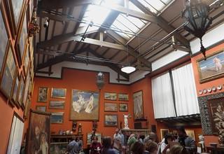 Atelier-salle d'exposition du peintre, Musée Sorolla, Paseo General Martinez Campos, Madrid, Castille, Espagne.