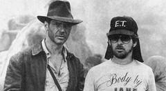 Harrison Ford and Steven Spielberg behind the scenes, filming Indiana Jones and the Temple of Doom in Sri Lanka (Tom Simpson) Tags: harrisonfordstevenspielberg behindthescenes indianajonesandthetempleofdoom srilanka indianajones film movie vintage 1983 1980s