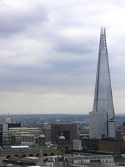 The Shard from St Paul's (Normann) Tags: london stpaulscathedral shard