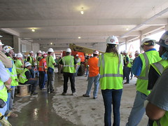 Construction Workers at Safety Briefing in Houston (gail_kuhf) Tags: hardhat workers construction texas houston safety jobsite