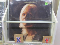 johnny winter (William Keckler) Tags: old records texture rock vintage print advertising lost reading decay finger vinyl gone retro ephemera read faded americana messages selling fleamarket ephemeral disappearance classicrock whitehair disappear vanish vanished seventiesrock