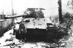 Battle scared King Tiger 1 (Krueger Waffen) Tags: history war tank military tiger wwii ardennes armor ww2 wreck armour armored waffenss tanks panzer kingtiger secondworldwar afv worldwartwo armoredvehicle warfare armoured armoredcar wehrmacht markvi tigertank pzkpfw tigerii panzerkampfwagen royaltiger destroyedtank pzkpfwvi secondworldwartanks knockedouttank worldwartwotanks tanksofthesecondworldwar