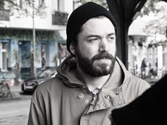 Mann (kohlmann.sascha) Tags: street portrait people man berlin hair de beard deutschland bart streetphotography streetportrait porträt menschen jacket mann anorak jacke haare mensch kleidung candidportrait streetfotografie strasenfotografie stra§enfotografie portršt