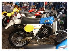 SACH GS 250 Enduro (1979) (baffalie) Tags: old classic bike vintage italia expo milano moto italie ancienne fiera motobike
