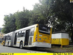 3 3438 - VIP unidade Imperador (Emerson F.C.®) Tags: brazil bus brasil sãopaulo mercedesbenz ônibus articulated mondego articulado o500ua induscar