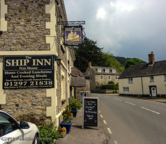 Ship Inn - Axmouth, Devon, England, UK (Paul Diming) Tags: uk greatbritain england landscape spring unitedkingdom devon jurassiccoast axmouth d7000 axmouthdevon pauldiming axmouthdevonengland