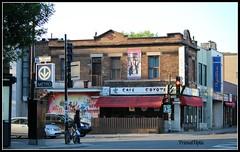 Café Coyote (PrimalOptic) Tags: coyote food coffee café shop corner movie restaurant drink montreal rosemont ugly familiar