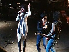 Siouxsie and Yoko (d o w n s t r e a m) Tags: music london meltdown yokoono royalfestivalhall omd siouxsiesioux doublefantasy em5