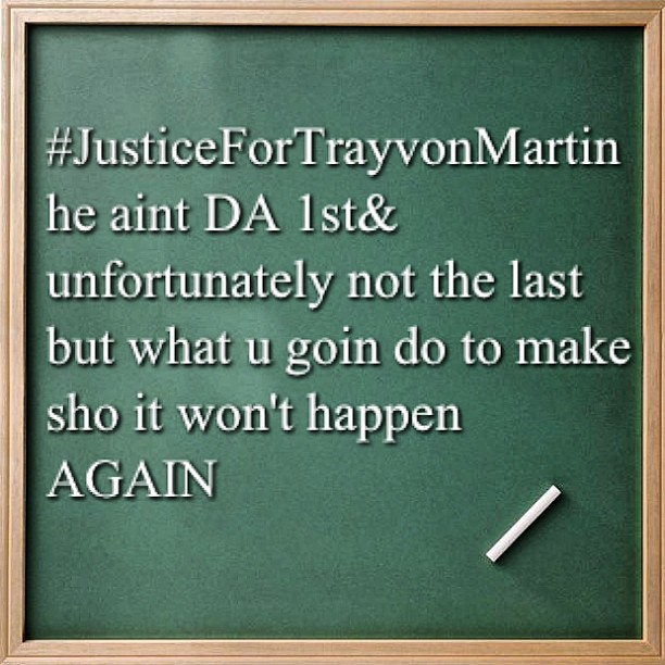 #justiceforTrayvonMartin who else watching Trayvon martin trial??