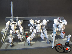 RF-3 WHITEKNIGHT (CAT WORKER) Tags: lego hard suit mech moc
