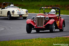 1953 MG TD (autoidiodyssey) Tags: usa cars race vintage mg westvirginia mga 1959 1953 td summitpoint jefferson500 edcronin 2013jefferson500 butchoconnor