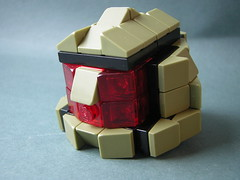 Space Soldier Helmet (5) (Dead Frog inc.) Tags: fiction brick soldier army lego chief halo science master scifi fi pick sci moc