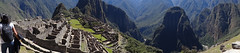 Peru - panoramic view of Machu Picchu and Urubamba Valley