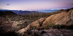 Arizona Sunset Panaramic (Joe Szalay) Tags: sunset arizona cactus mountains southwest clouds landscape rocks day desert tucson saguaronationalpark panaramic
