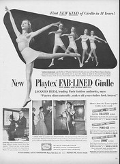 25 1950 (Undie-clared) Tags: girdle playtex fablined
