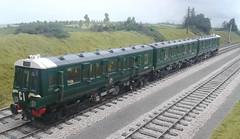 LEGO Class 116 DMU DCC at PW's (bricktrix) Tags: train lego dcc legotrain 116dmu