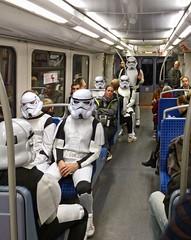 - (txmx 2) Tags: trooper underground subway starwars metro hamburg ignorethetagsonwhitetheyarefromastupidflickrrobot