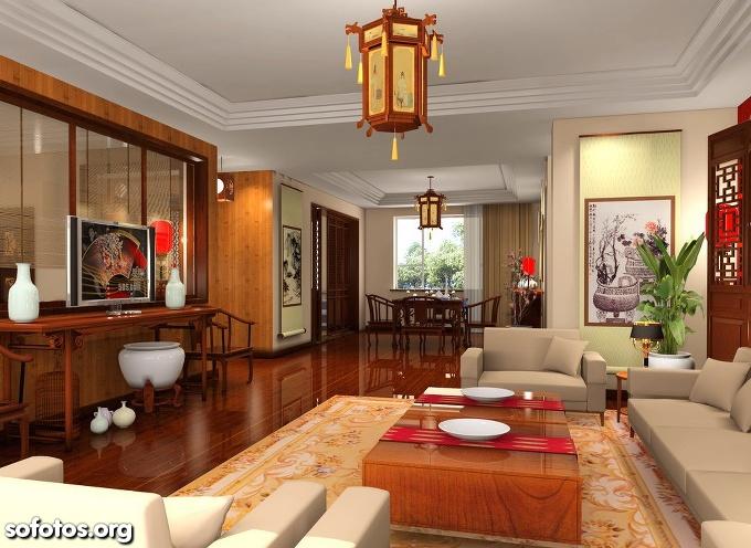 salas de estar decoradas de apartamentos