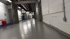 Basement of the new Royal London Hospital whitechapel E1 (Carol B London) Tags: file:md5sum=21060be6da69b394b07ee02ad66aa356 file:sha1sig=dc08ee04ba99e4729a59316693e20acaf228ec35 rlh bartshealthtrust royallondon londonhospital basement lowerfloor aircon ducts e1 whitechapel corridor landiong wide fireextinguisher oldhospital newhospital royallondonhospital demolition thelondonhospital thelondon oldandnew