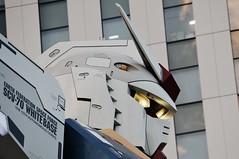 searching (takorii) Tags: anime art japan japanese tokyo robot military machine animation odaiba gundam