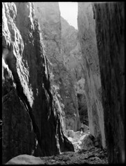 Stanley Chasm in Central Australia (State Records SA) Tags: blackandwhite photography australia historical southaustralia frankhurley srsa staterecords staterecordsofsouthaustralia staterecordsofsa