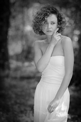 Spring/ BW edition (Dmitry Chastikov) Tags: bw marina nikon 85mm floweret nikkor85mmf18 d7000 20130520ds74256cr11bwe