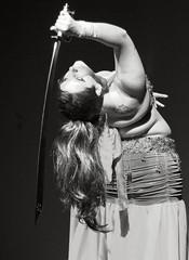 Dança do Ventre (alnero) Tags: brazil woman girl brasil canon eos rebel 50mm dance dof mulher sp sword garota bellydance dança andré santo espada morena t3i dançadoventre