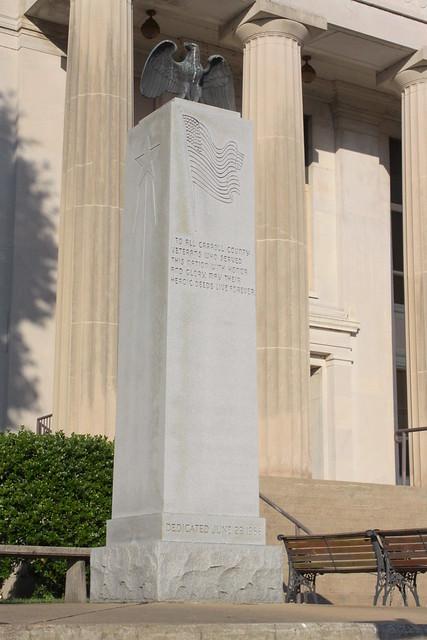 Carroll County Veterans Memorial - Huntingdon, TN