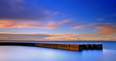 The Birds (RF-Edin) Tags: longexposure port scotland nikon edinburgh seton leefilters