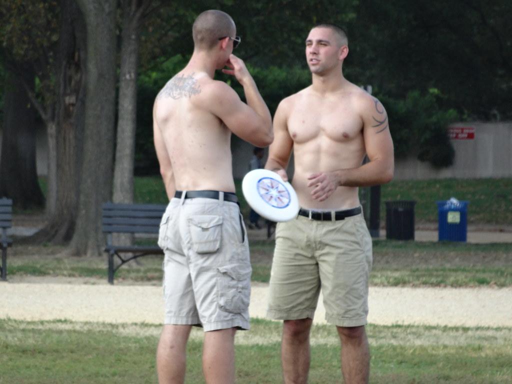 Hot marine men
