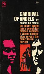 Macfadden Books 50-127 - Robert DeMaria - Carnival of Angels (swallace99) Tags: fiction vintage harlem paperback american macfadden