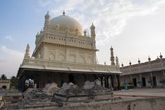 The Grand tomb. (anasshafiq) Tags: travel sunset india tourism nikon tomb royal grand sultan karnataka mysore tipu d90 gumbaz 500px ifttt