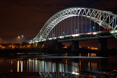 SAM_6693 (Neil MacG) Tags: bridge architecture night unitedkingdom merseyside runcornwidnesbridge