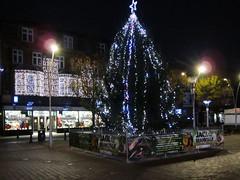 Christmas Tree (LookaroundAnne) Tags: christmas norfolk christmastree christmaslights yarmouth greatyarmouth afterdark