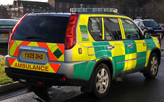 Isle of Wight Ambulance Service Nissan X-Trail Rapid Response Vehicle 657 - YX09 DHD (IOW 999 Pics) Tags: nissan ambulance vehicle service isle rapid wight xtrail response 657 yx09dhd