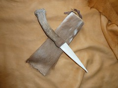 Fallow Knife (Lupa GreenWolf777) Tags: leather magick skin magic knife deer hide ritual bone horn fallow pagan antler pelt athame boline