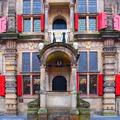 City hall delft (DietJee) Tags: monument netherlands cityhall delft stadhuis hccity renaissancestijl