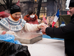 two and a half smile (streetwrk.com) Tags: street people protest streetphotography stranger ukraine revolution passion kiev maidan socialdocumentary kiew majdan streetogs streetwrk euromaidan euromajdan