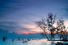 Once upon a time.. (bad | back to basic in 2014..) Tags: bluehour cokin pantaikelanang