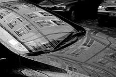 (mehdiesf) Tags: urban blackandwhite bw stilllife reflection building berlin film car analog nikon noiretblanc kodak tmax object negative analogue tmax400 kodaktmax400 fa deutsch argentique naturemorte nikonfa kodaktmax kodakd76 film:iso=400 film:brand=kodak developer:brand=kodak developer:name=kodakd76 film:name=kodaktmax400 filmdev:recipe=9202