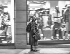 Swoosh (Csaba Csorba) Tags: street winter portrait bw motion night dark underground nikon europe hungary shadows budapest perspective generations nikkor d7100