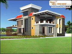 Duplex House Design (ApnaGharhd) Tags: house design exterior duplex elevation